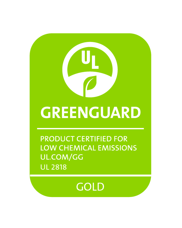 GREENGUARD UL2818 Gold Certification